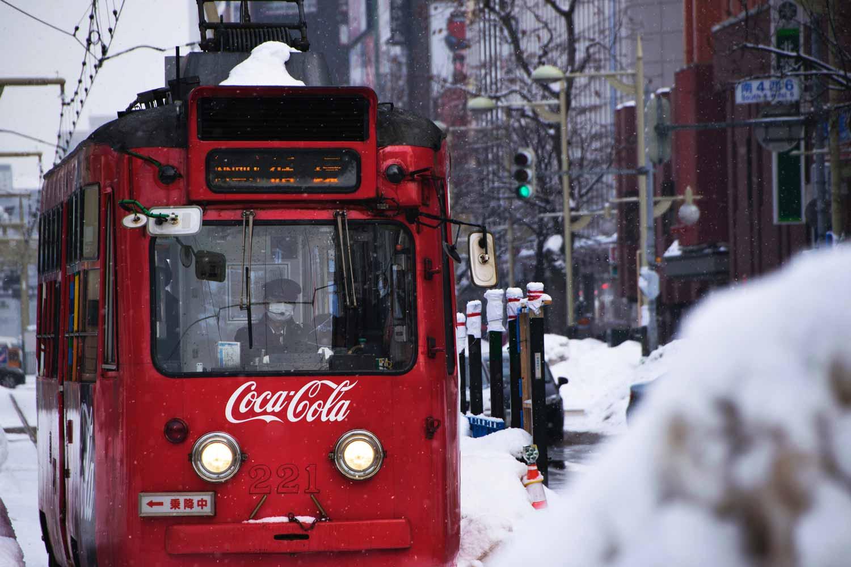 Markenschutz: Straßenbahn mit Coca-Cola-Logo