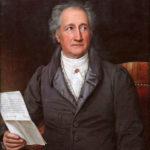 Johann Wolfgang von Goethe auf einem Gemälde von Joseph Karl Stieler aus dem Jahr 1828