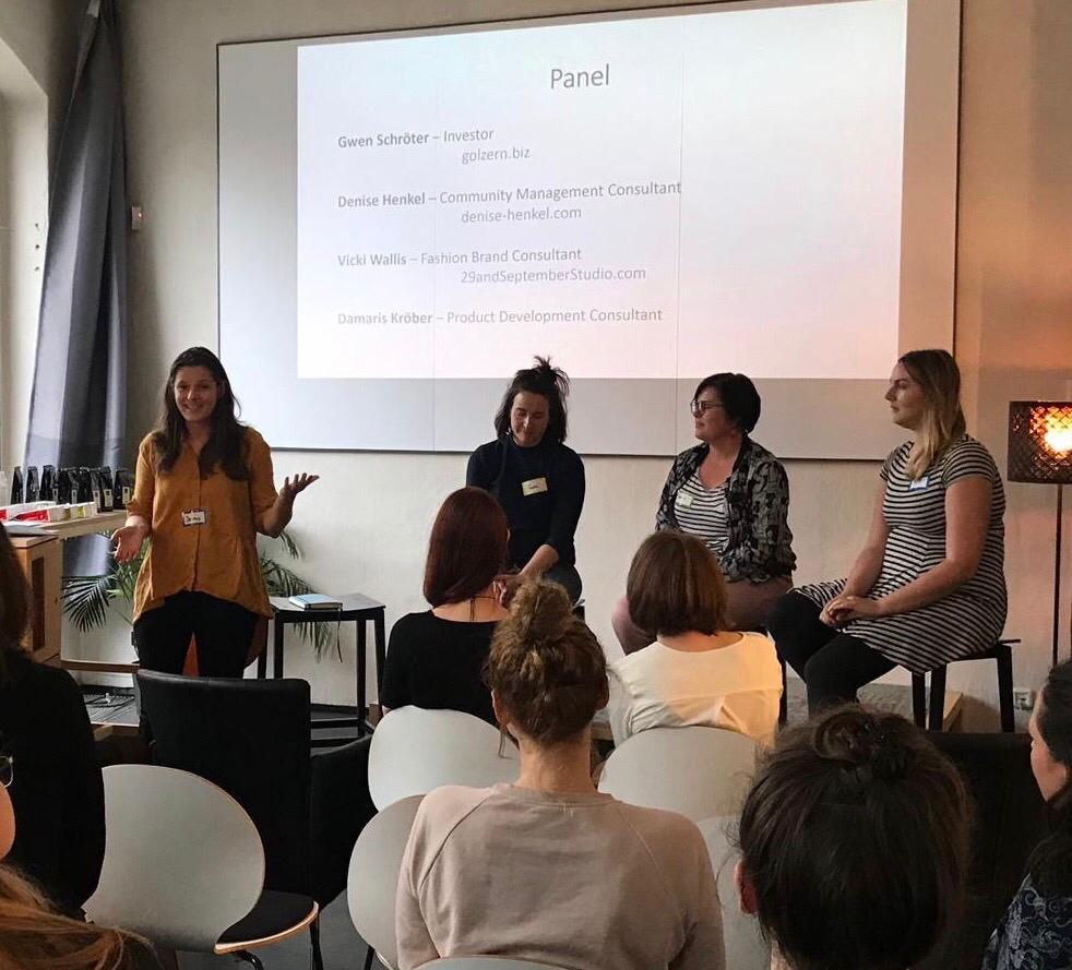 meetup female entrepreneurs & creatives session