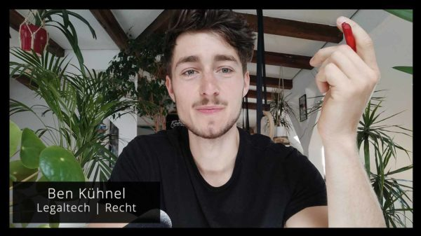 Ben Kühnel Videocall KTR.legal