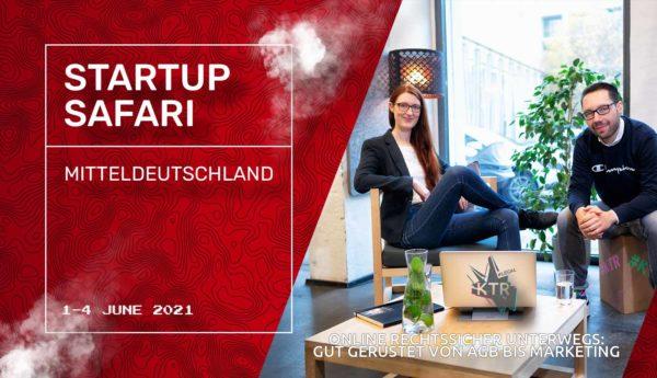 Online rechtssicher unterwegs - Startup Safari 2021 1